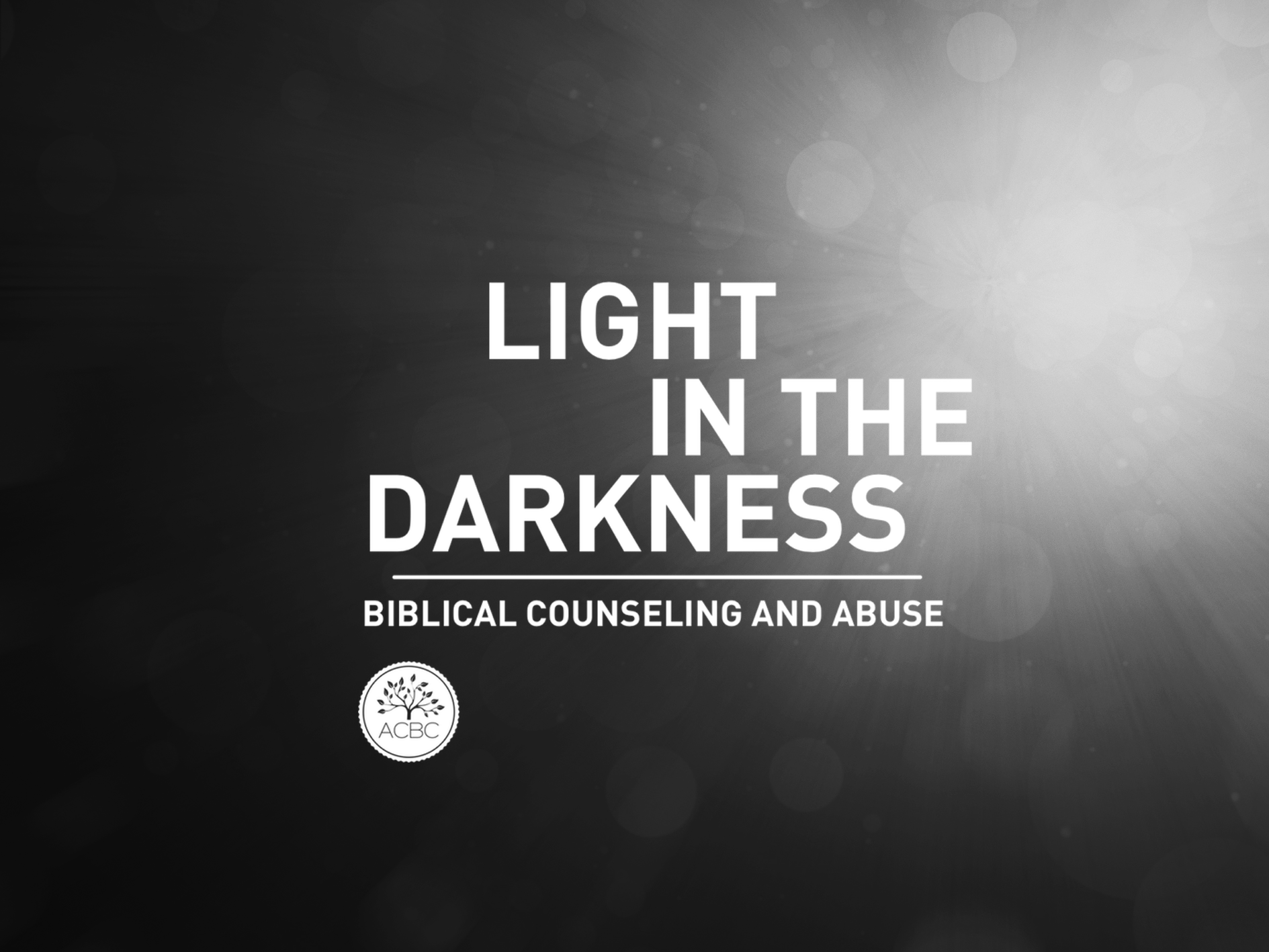2018 Annual Conference | Light in the Darkness