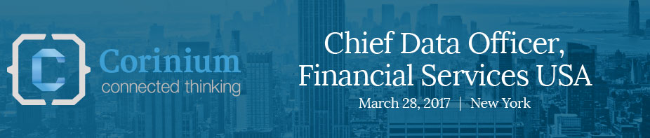 Chief Data Officer, Financial Services 2017