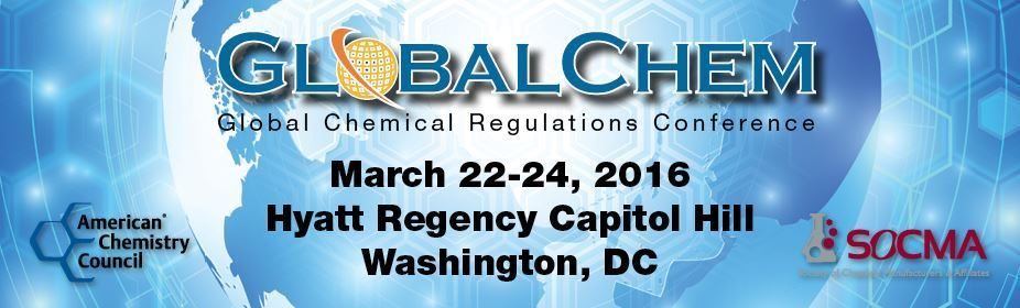 2016 GlobalChem Conference and Exhibition
