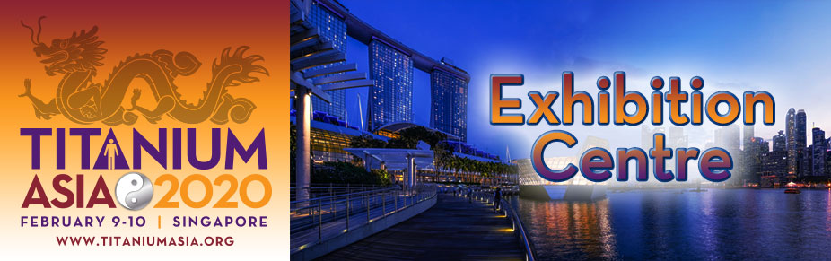 Singapore: TITANIUM ASIA 2020 Exhibition Space