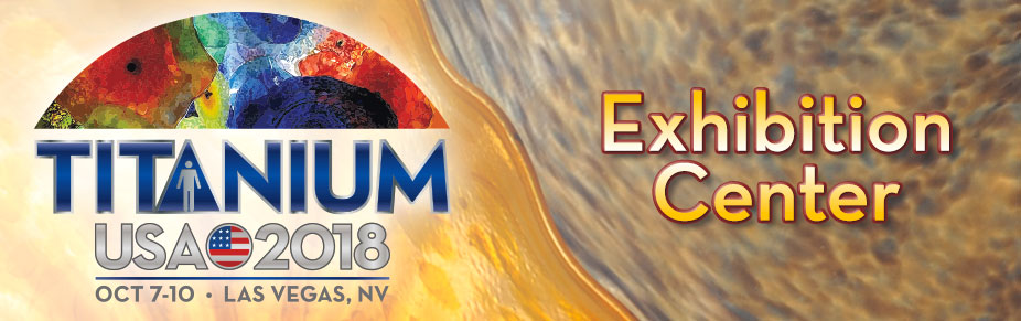 Las Vegas TITANIUM USA 2018 Exhibition Space