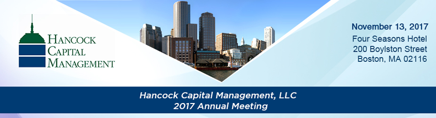 Hancock Capital Management 2017 Annual Meeting