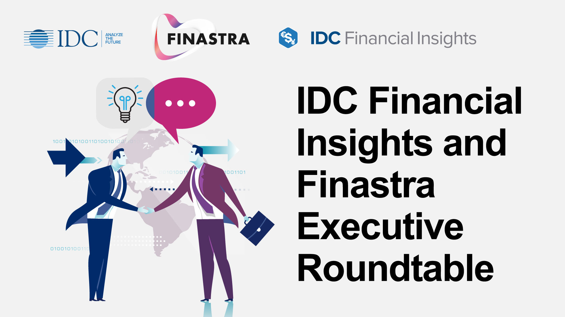 IDC & Finastra Executive Roundtable