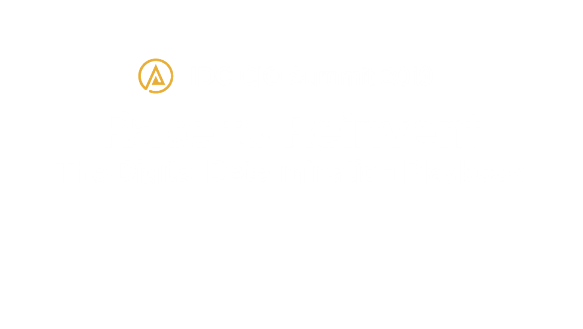 CIO SUMMIT 2019 SINGAPORE
