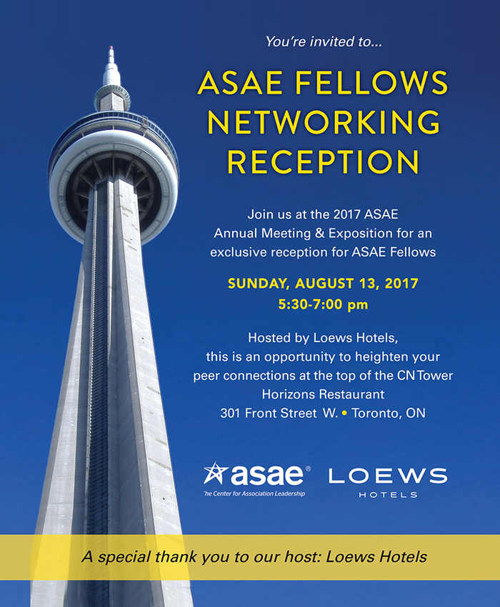 ASAE Fellows Networking Reception