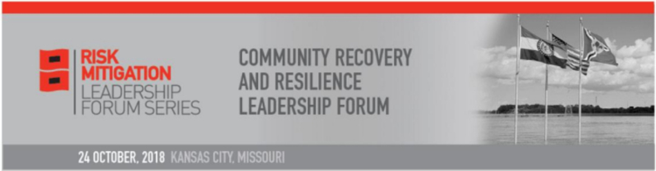 Community Recovery and Resilience Leadership Forum