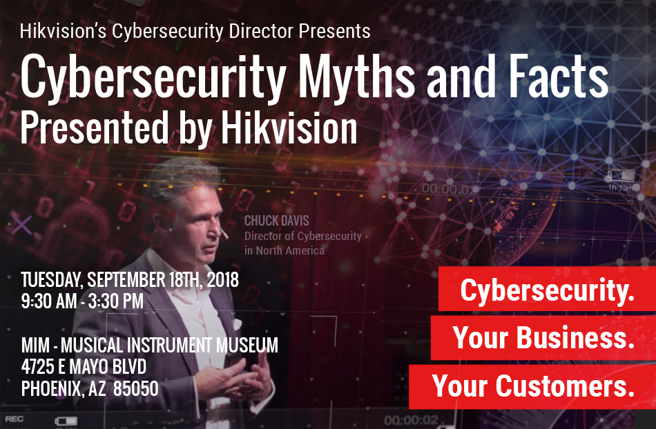 Cybersecurity Myths and Facts: Presented by Hikvision