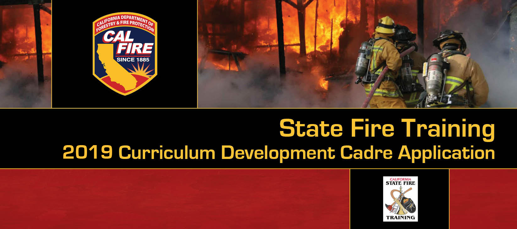 2019 Cal Fire Rope Rescue Operational/Technician Cadre Application