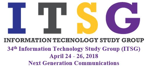 2018 Information Technology Study Group (ITSG) Spring Workshop