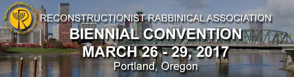 Recontstructionist Rabbinical Association 2017