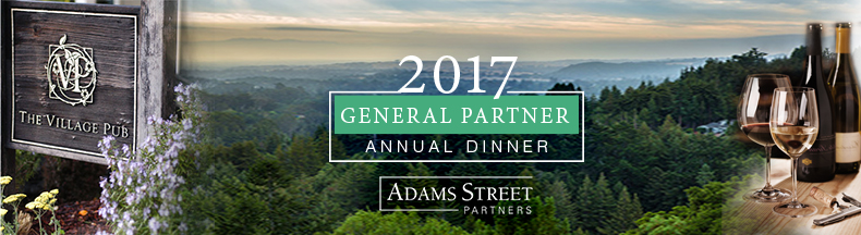 2017 West Coast General Partner Annual Dinner