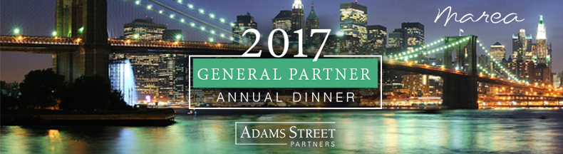 2017 Adams Street Partners East Coast General Partner Annual Dinner