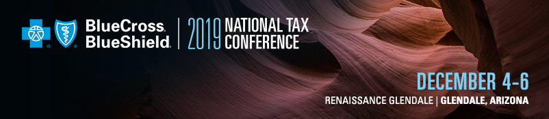 2019 BCBS National Tax Conference