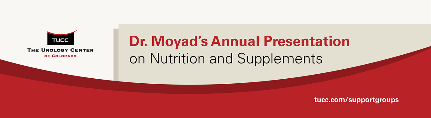 October 18, 2018 Dr. Mark Moyad's Update on Nutrition and Supplements