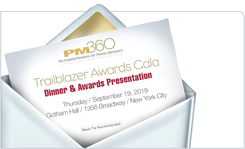 PM360 2019 Trailblazer Awards Gala Dinner & Presentation