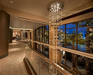 view from lobby