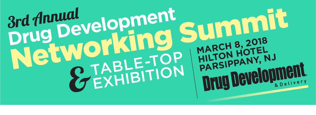 3rd Annual Drug Development Networking Summit                                                             & Table Top Exhibition