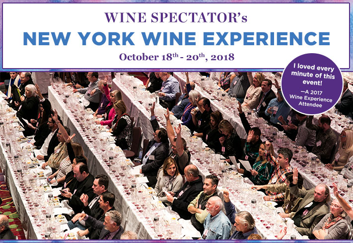 2018 New York Wine Experience