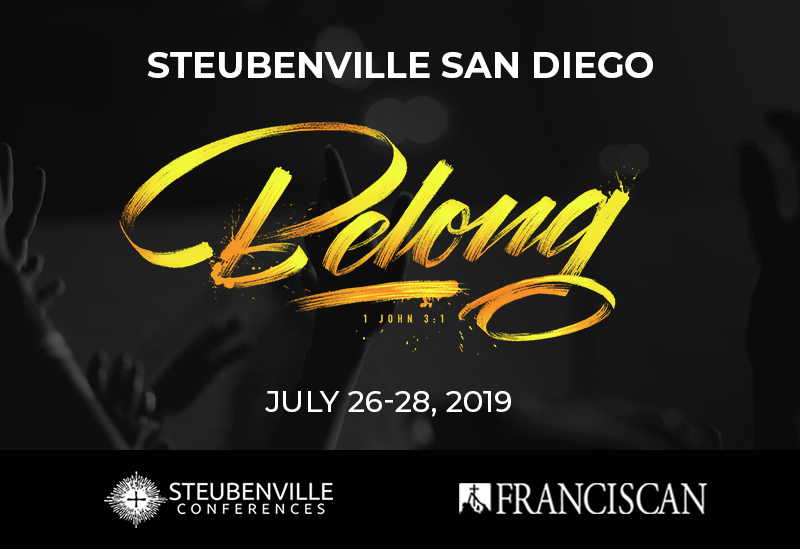 Steubenville San Diego Youth Conference - July 26-28, 2019