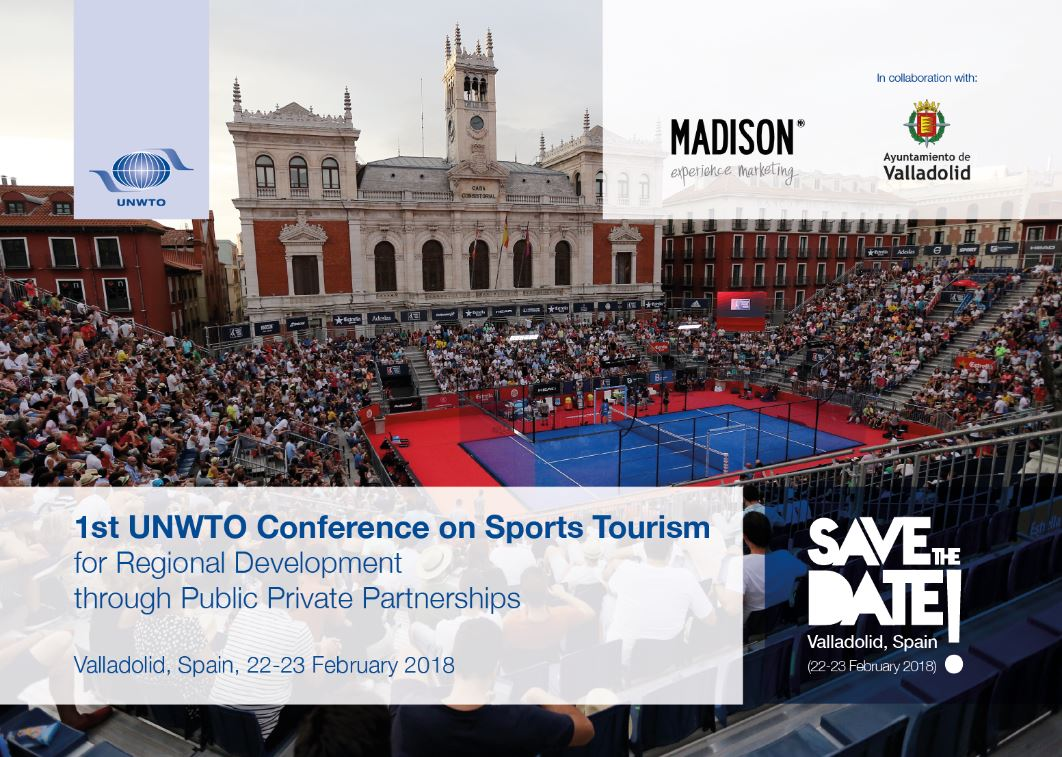 1st UNWTO Conference on Sports Tourism for Regional Development through Public Private Partnerships
