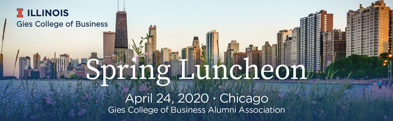 Gies College of Business Spring Luncheon 2020