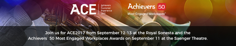 ACE 2017 & the Achievers 50 Most Engaged Workplaces Awards (TM) Gala