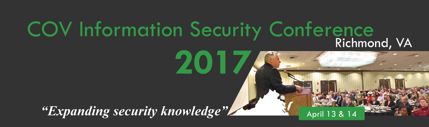 2017 Commonwealth of Virginia IT Security Conference