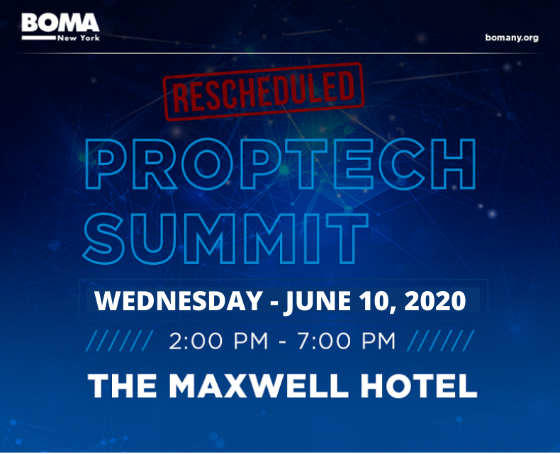 Postponed to Fall 2020 - BOMA New York PropTech Summit