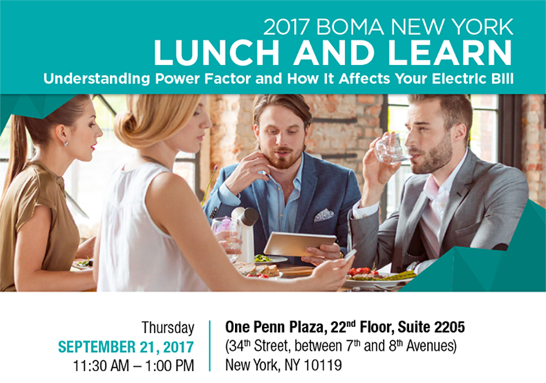 Lunch & Learn: Understanding Power Factor and How It Affects Your Electric Bill