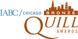 IABC/Chicago 2013 Bronze Quill Awards
