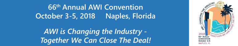 2018 AWI Annual Convention