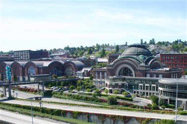 Union Station and Downtown Tacoma