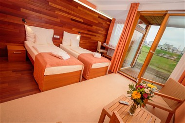 Superior double room (twin beds)