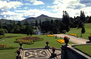Powerscourt Gardens in County Wicklow