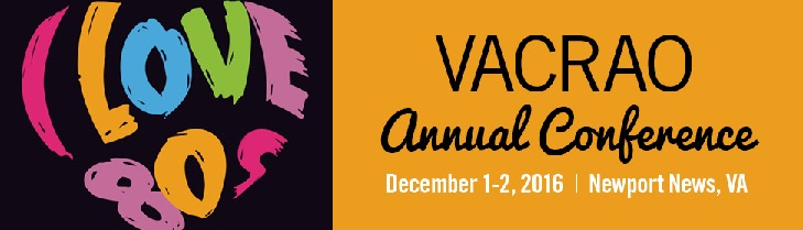 VACRAO 2016 Annual Conference