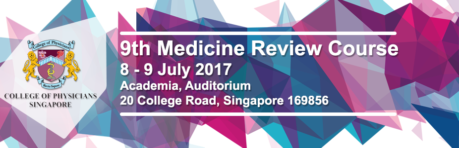 The 9th Medicine Review Course 2017
