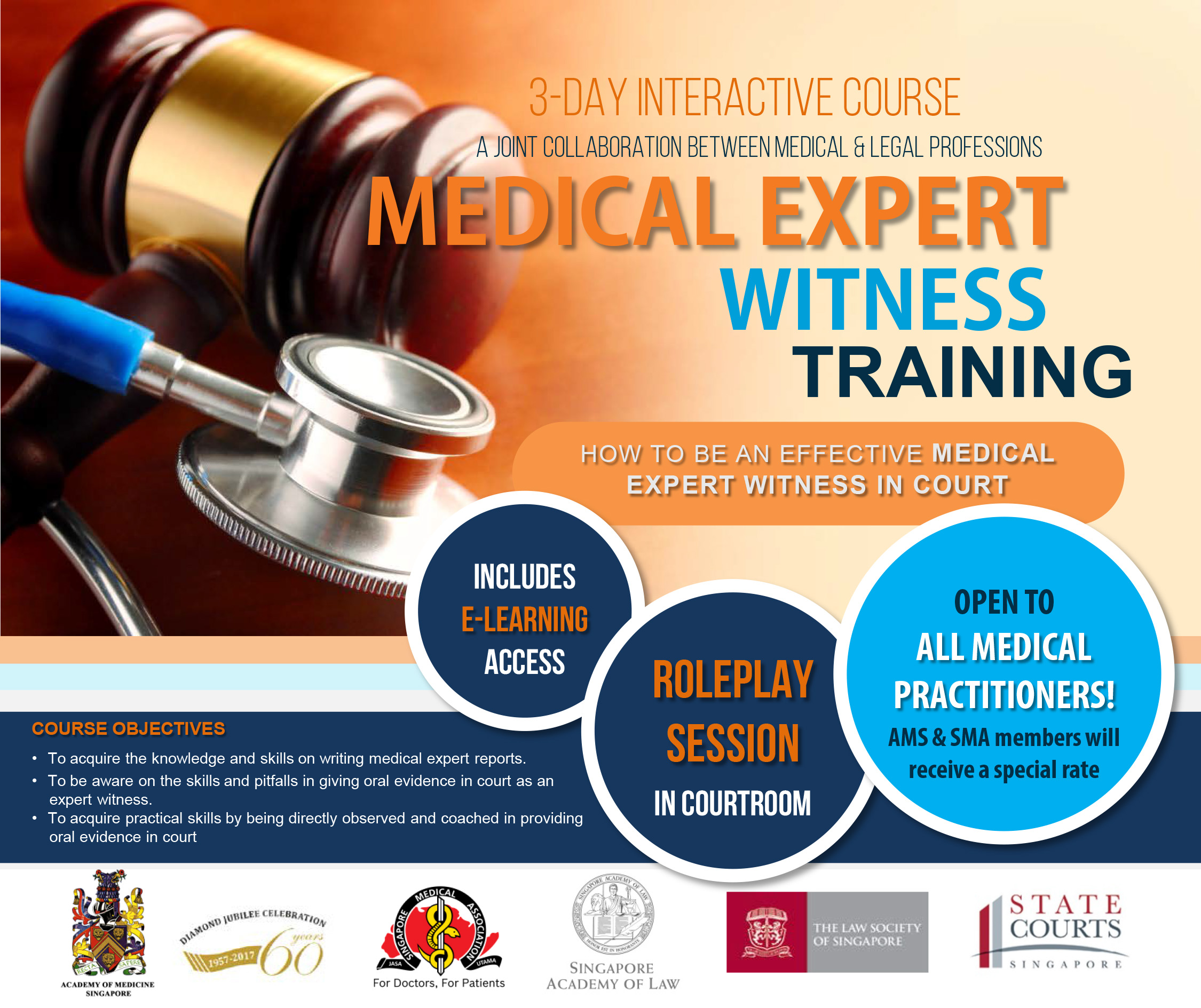 Medical Expert Witness Training Course 2017