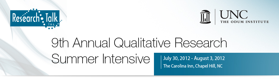 9th Annual Qualitative Research Summer Intensive