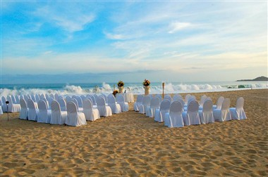 Wedding Set Up at the beach