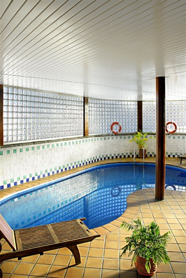 Indoor heated pool abba Formigal Hotel