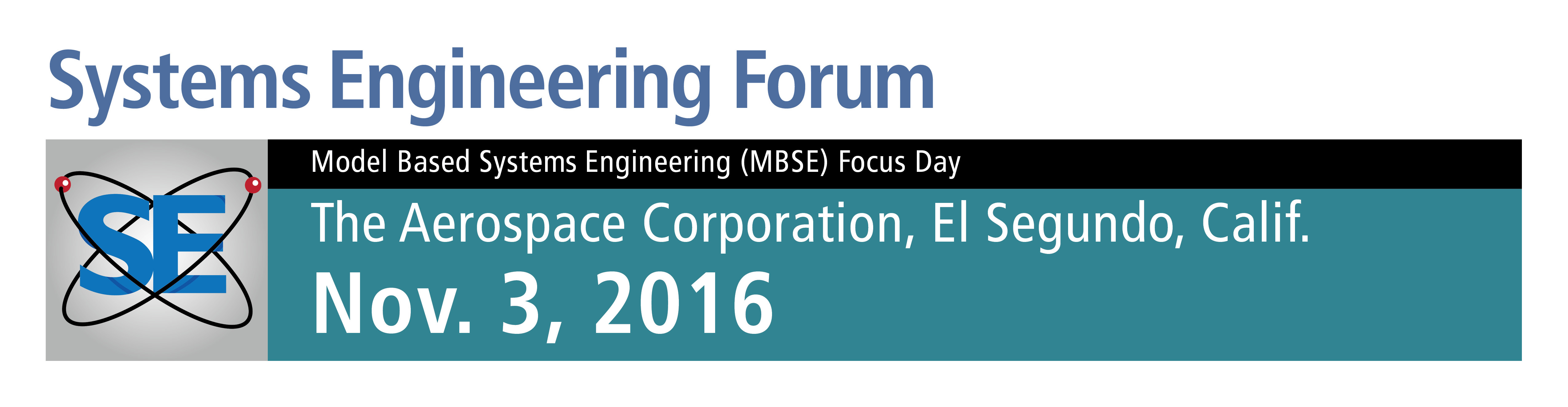 2016 Systems Engineering Forum