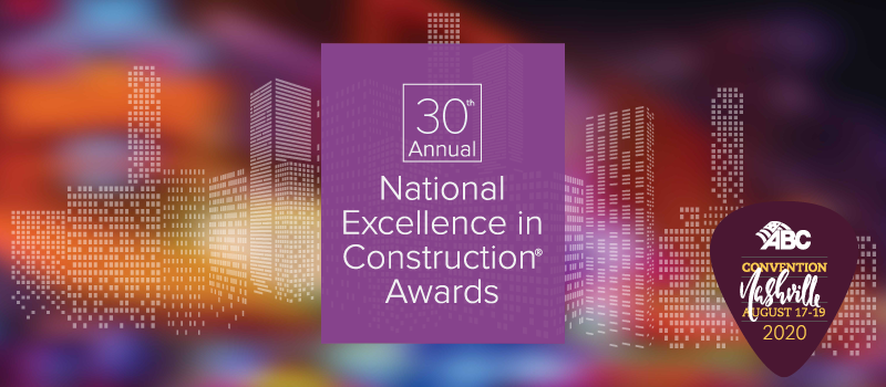 30th Annual Excellence in Construction® Awards Gala