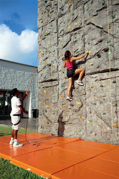 Wall Climbing Activity - Unique in Mauritius