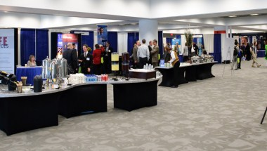 Exhibit Hall - carpeted