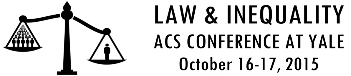 Law & Inequality Conference: ACS Conference at Yale