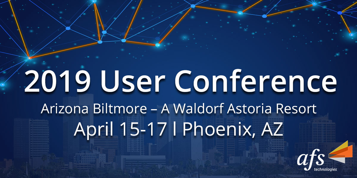 AFS 2019 User Conference