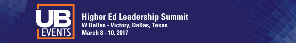 Higher Education Leadership Summit, March 2017