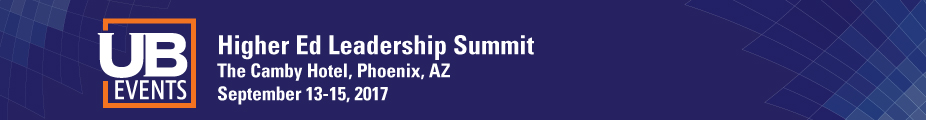 Higher Education Leadership Summit, September 2017