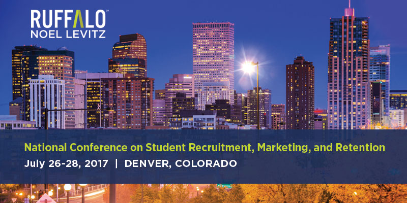 2017 National Conference on Student Recruitment, Marketing, and Retention