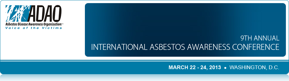 2013 International Asbestos Awareness Conference